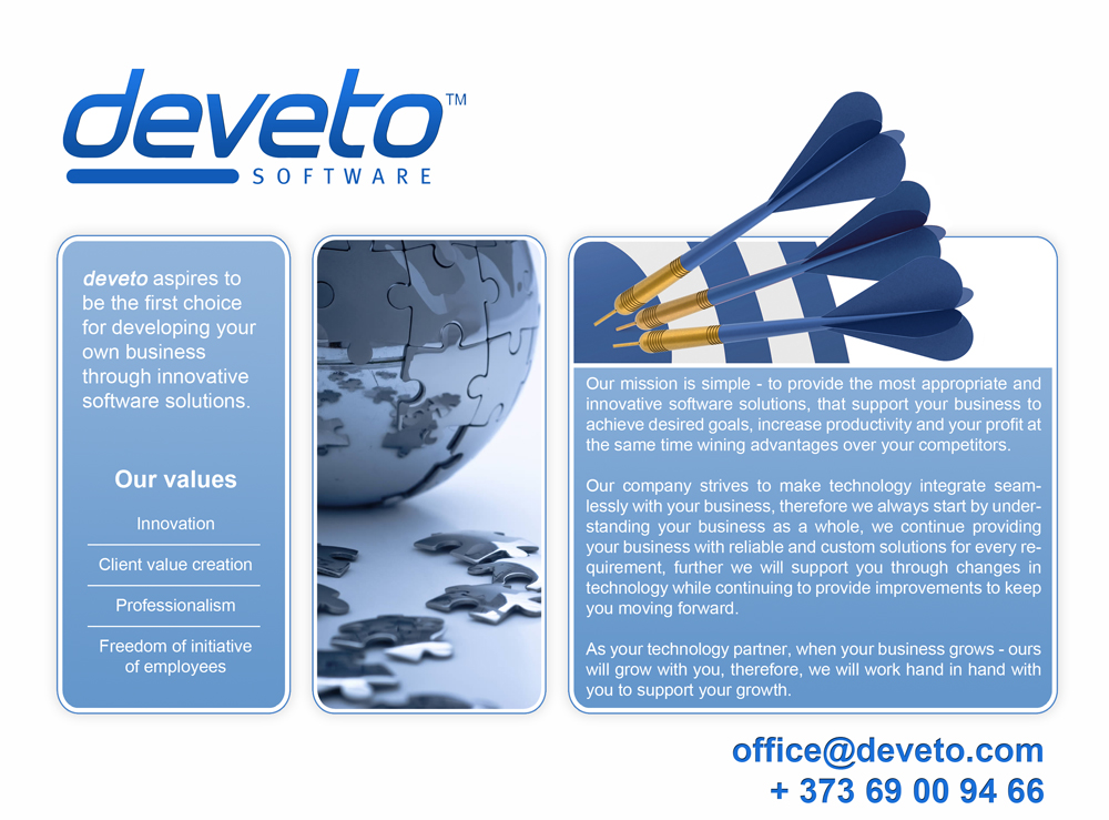 deveto software company